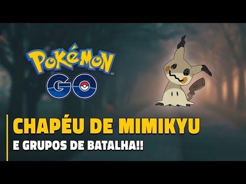 CHAPÉU DE MIMIKYU E GRUPOS DE BATALHA CONFIRMADOS! | Pokémon GO