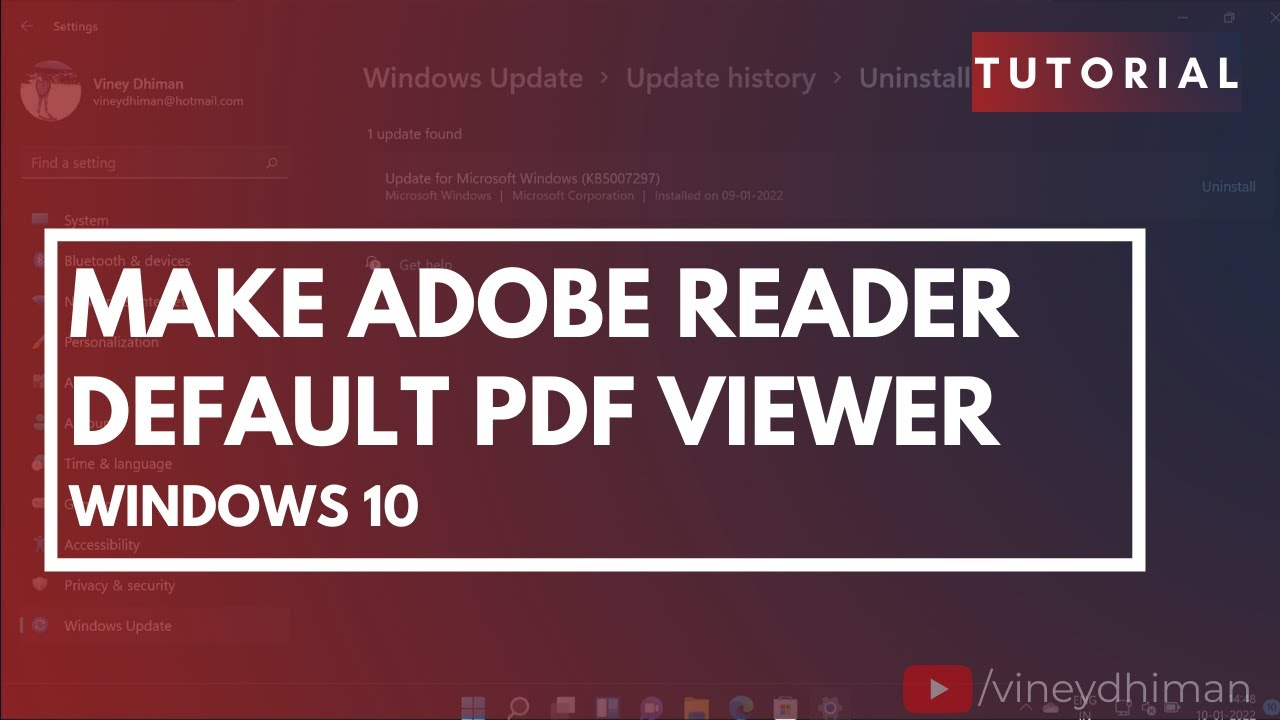 descargar adobe pdf reader windows 10
