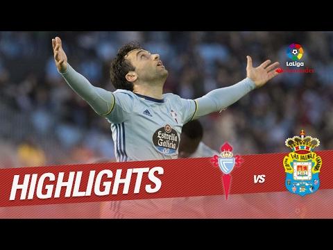 Resumen de Celta de Vigo vs UD Las Palmas (3-1)