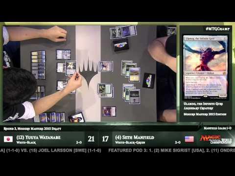 2015 Magic World Championship Round 3 (Draft): Martin Muller vs. Jacob Wilson
