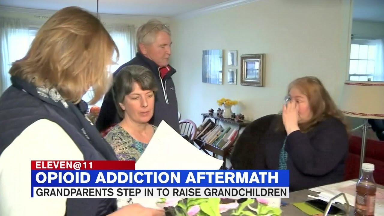 Support groups formed to help grandparents who support, raise grandkids