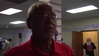 George Rivera talks after winning recall election