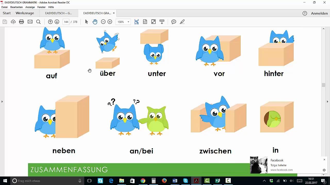 Deutsche Grammatik Einfach Erklärt Blick Ins Buch Youtube