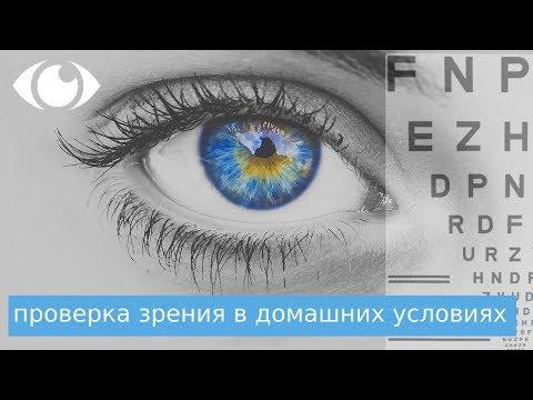 Проверка зрения в домашних условиях и заполнение графа - MALINSKY