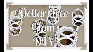 💎DIY Glam Wall Sconce|| 💎Dollar Tree DIY💎