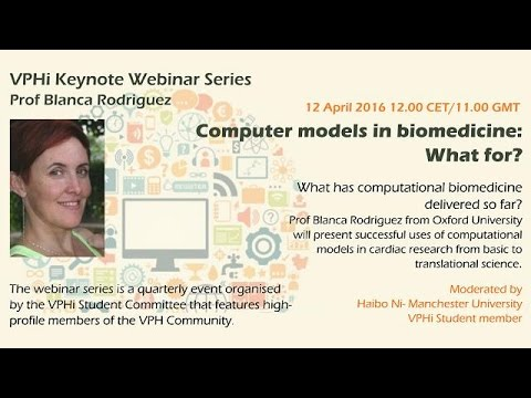 VPHi webinar - Computer models in biomedicine: What for?