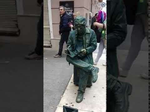 Uruguay (Montevideo) Music-Art-Culture 4 | Street performance | Live Statue