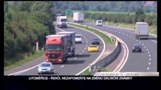 LITOMĚŘICE: Řidiči, pozor na výměnu dálničních známek!