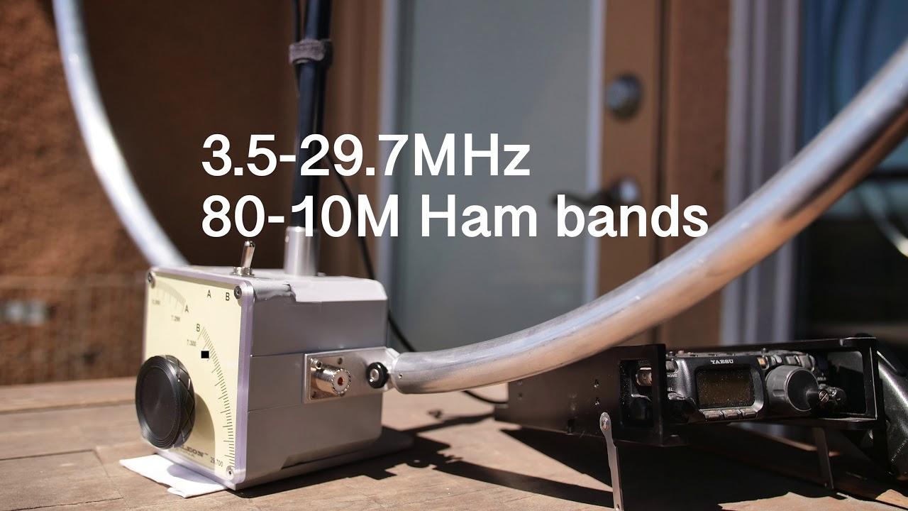 CHAMELEON ANTENNA - Portable Antenna, Loop Antenna, Ham Radio