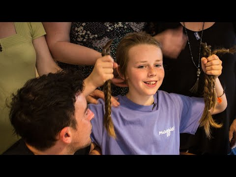 Boy Donates Hair to Kids with Cancer After Family Friend Gets Chemo
