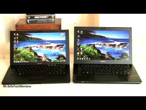 Sony VAIO Z Vs. Sony VAIO S Comparison Smackdown