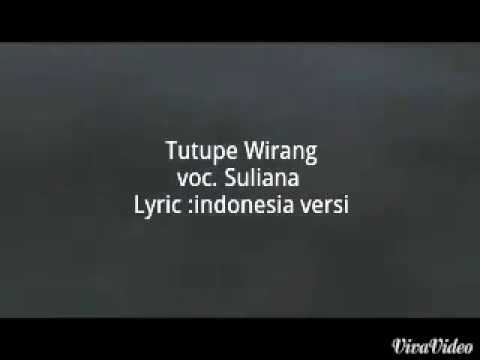 Suliana - Tutupe Wirang + Terjemahan  Movie Final Fantasi