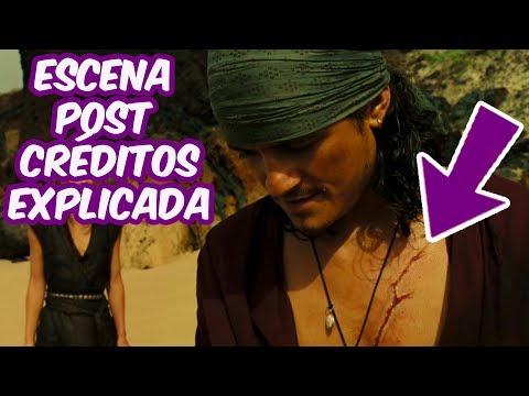 ESCENA POST CRÉDITOS EXPLICADA | PIRATAS DEL CARIBE 5