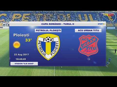 SportonlinePH - LIVE - Petrolul Ploiești - ACS Urban Titu 2-0(0-0) Cupa României, faza a doua