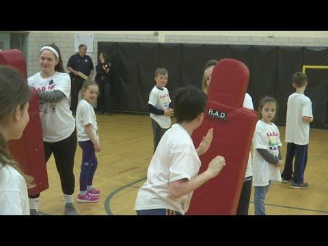Local police department offers self-defense training for students