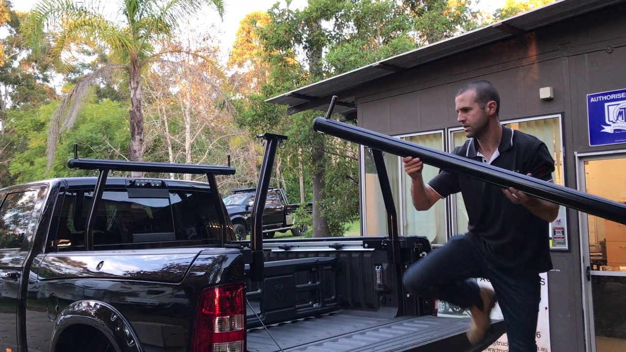 Load Bars For Dodge Ram With Ram Boxes Youtube