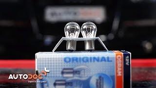 Tips om byta Glödlampa Baklykta AUDI