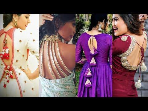 Latest Kurti Back Neck Designs | Back Neck For Kurtis | Party Wear Salwar Suit Back Neck Designs