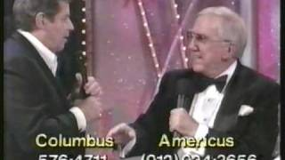 Remembering Ed McMahon on the 1992 Jerry Lewis Telethon