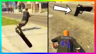 is this the future of how gta 5 will be played virtual reality grand theft auto is brutal