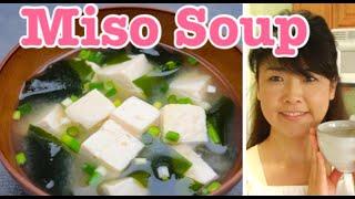 Vegan Vegetarian Japanese Miso Soup Cooking
