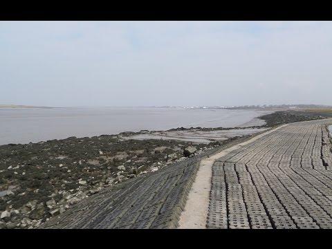 Huntspill Sea Wall Sea Fishing Mark Near Burnham On Sea Somerset