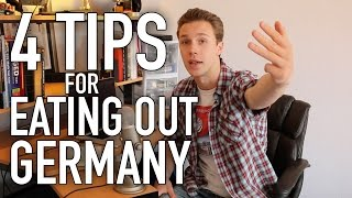 Life in Germany - Ep. 52: EATING OUT (Four Things you Need to Know)