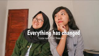 """Lagu Everything has changed (Live Cover Zul Feat.Rdp) - Taylo Swift x Ed Sheeran"