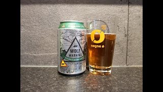 Sofiero Wolf Warning Double Brew Lager By Sofiero Bryggeri   Swedish Craft Beer Review