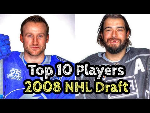 Top 10 Players From The 2008 NHL Draft