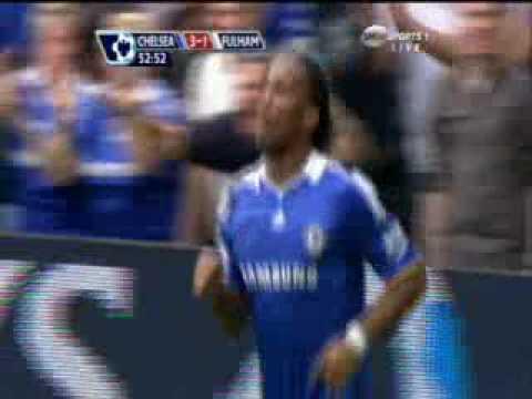 Didier Drogba (Chelsea 3 vs 1 Fulham)