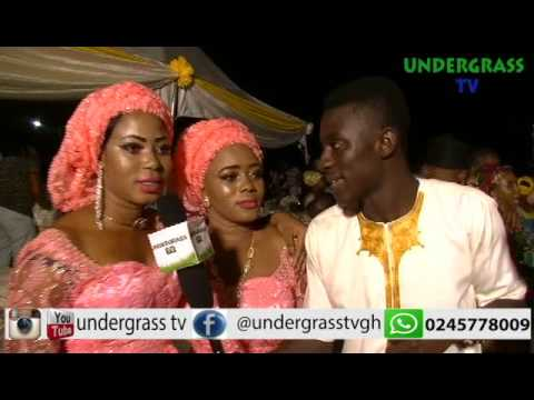 undergrass tv repping at our own brothers Wedding ceremon Gadaf and Hausi