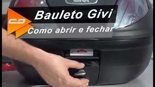 Como abrir e fechar Bauleto de Moto Givi: Confira o Passo e Passo – Connect Parts