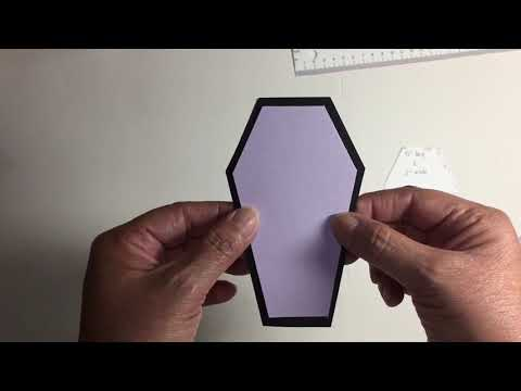 Coffin card tutorial