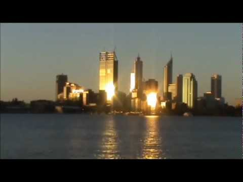 22 December 2011 - VB 234 - Perth Skyline Time Lapse