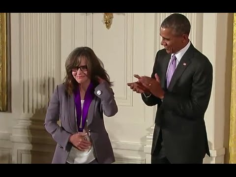 Sally Field Honored With National Medal Of The Arts