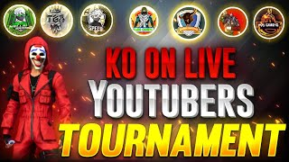KNOCKOUT TAMILAN ON LIVE || YOUTUBERS 💥TOURNAMENT || FREE FIRE TAMIL LIVE