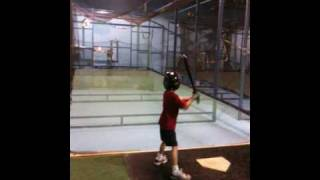 Carter At The Naperville Batting Cages