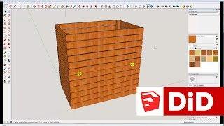 SU08. SketchUp - Projekt 3D kompostownika ogrodowego