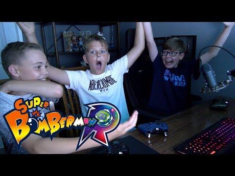 MY FRIENDS BLEW ME UP!! - Super Bomberman R
