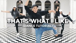 That's What I Like - Bruno Mars (Dance Tutorial) | @besperon Choreography