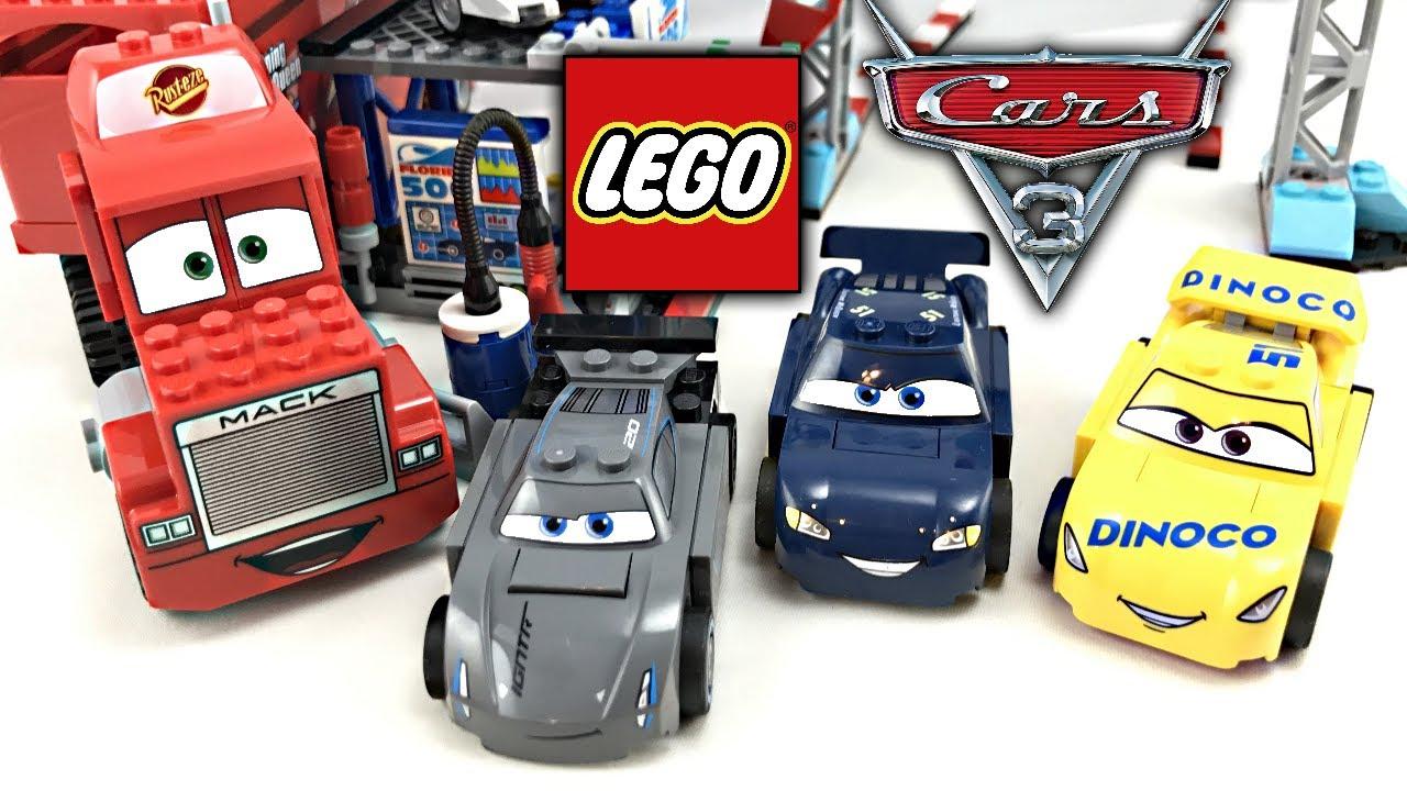 Lego Cars 3 Florida 500 Final Race Review 2017 Set 10745
