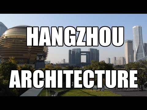 AMAZING ARCHITECTURE AT HANGZHOU CITIZEN CENTER!  [China Au Pair Vlog #47]