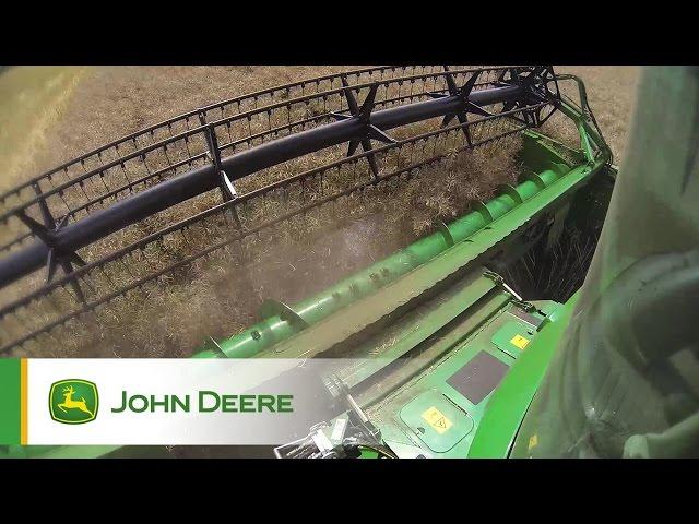 Mietirebbie Serie S John Deere - In azione Clip 3