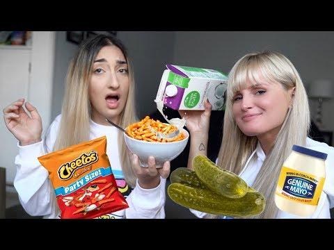 VERRÜCKTE USA FOOD KOMBINATIONEN mit EDA VENDETTA | Fräulein Minzbonbon