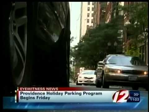 Free holiday parking
