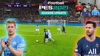 PSG x MANCHESTER CITY UEFA CHAMPIONS LEAGUE PES 2021 ‹ Rikinho ›