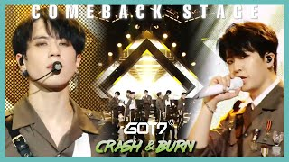 [Comeback Stage] GOT7   Crash & Burn , 갓세븐   Crash & Burn Show Music core 20191109