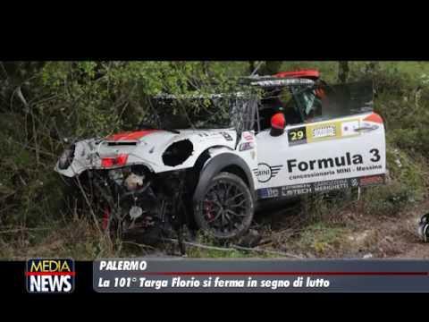 Incidente alla Targa Florio rally: due morti, gara annullata