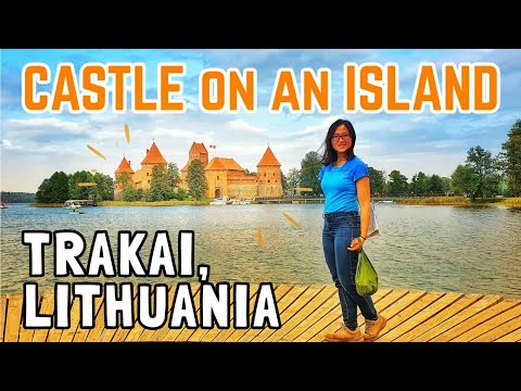Trakai Castle, Lithuania | Medieval Castle on an Island!